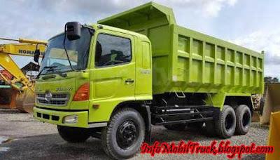 Lohan dump truk hino