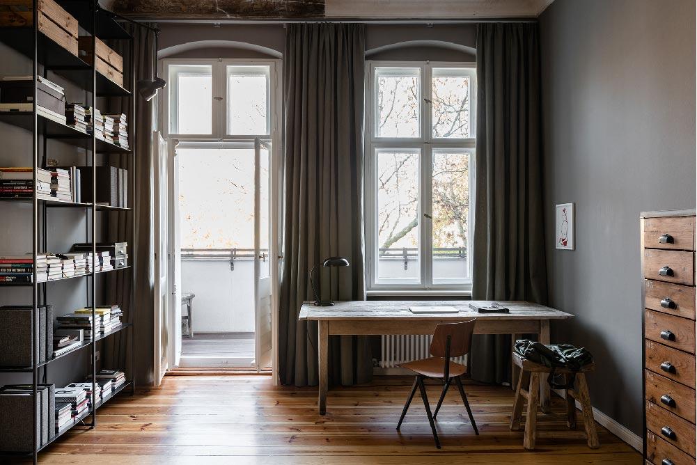 restyling di un appartamento del XIX secolo a Berlino