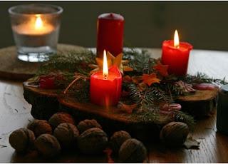 decoraciones con velas para iluminar la casa, adornos de navidad para iluminar, manualidades para iluminar en navidad