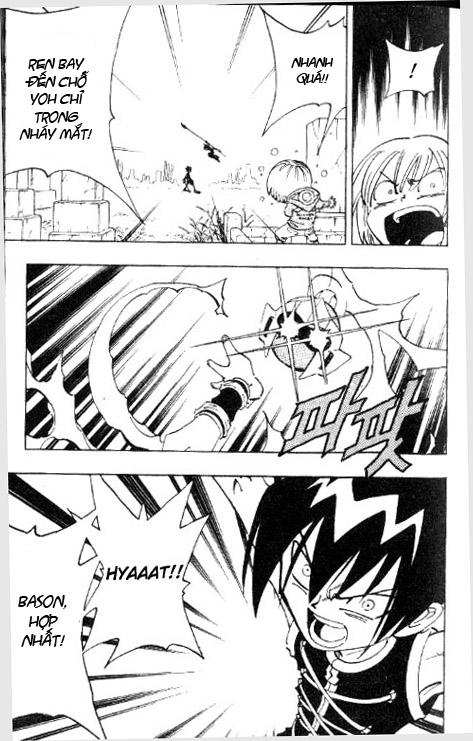Shaman King [Vua pháp thuật] chap 56 trang 17