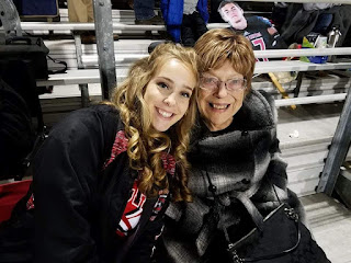 Betty Morton with granddaughter Chrissy