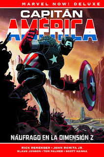Capitán América Marvel Now! Deluxe