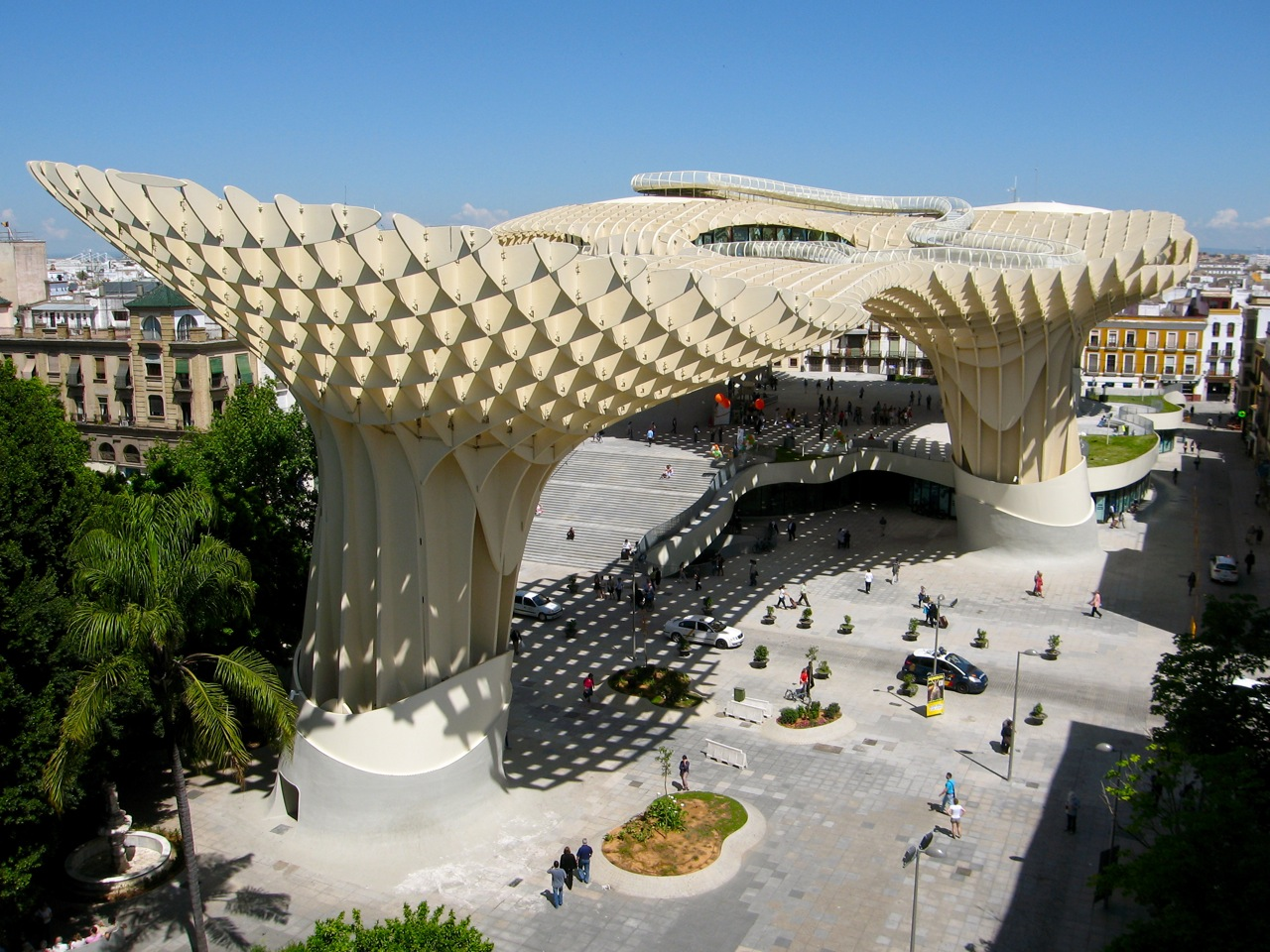 Experimenting in Public Metropol Parasol Seville by