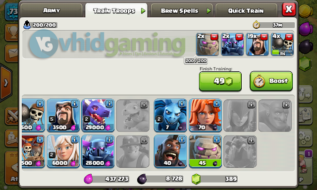 Clash of Clans Event - Golem Discounted