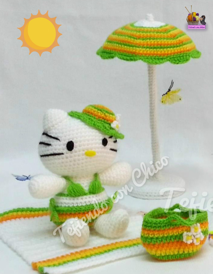 Amigurumis Tejiendo con Chico: Hello Kitty 18