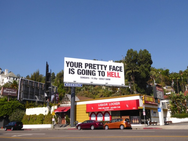 Your Pretty Face is Going to Hell season 3 billboard