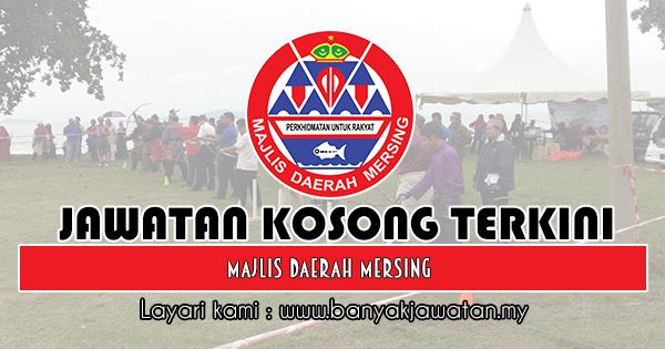 Jawatan Kosong 2018 di Majlis Daerah Mersing