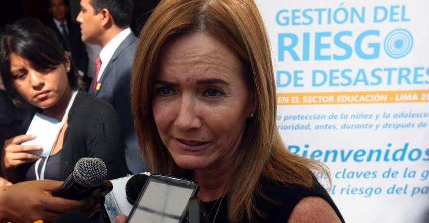 Ministra de Educación se presenta mañana ante la Comisión de Defensa del Consumidor del Congreso de la República
