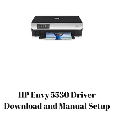HP Envy 5530 Driver Download and Manual Setup