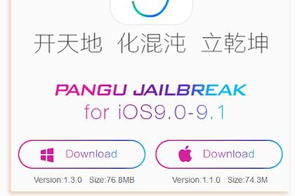 Pangu Rilis Alat Jailbreak iOS 9.1 iPhone dan iPad