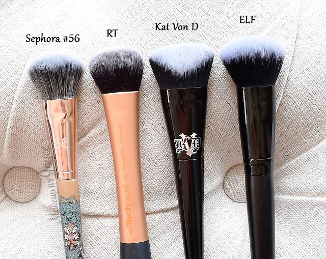 Sephora Mara Hoffman Kaleidoscape Pro Flawless Airbrush 56 Review Kat Von D Lock-It Edge Foundation Brush