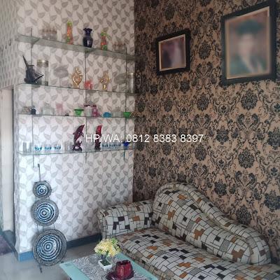 Ruang Tamu Rumah Murah Secondary 2 lantai di Jl. Asoka 1 Pasar 1 Ring Road Dekat Ring Road City Walk Medan