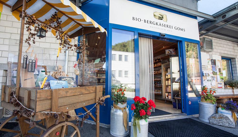 Zum Dahinschmelzen: Bio-Rohmilch-Raclette von der Bio-Bergkäserei Goms