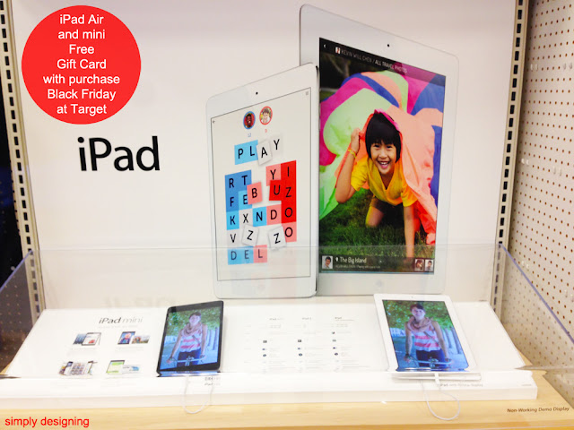 iPad Air and iPad Mini Black Friday Deals at Target #MyKindofHoliday