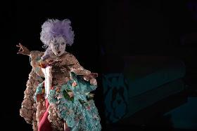 IN REVIEW: mezzo-soprano KINDRA SCHARICH as Rosaura in Ars Minerva's November 2019 modern-world-première production of Domenico Freschi's ERMELINDA [Photograph by Teresa Tam, © by Ars Minerva]