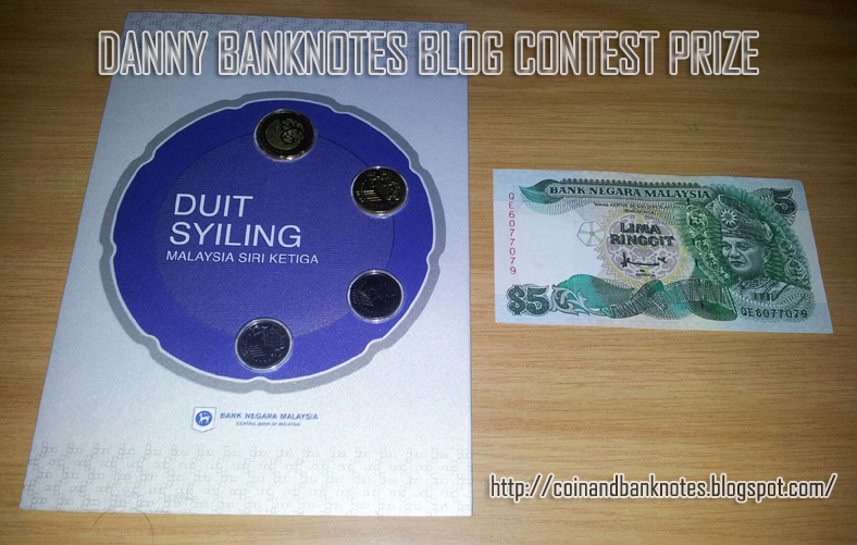 Danny Banknotes Blog Contest