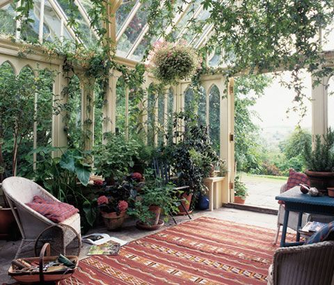 Conservatory Painting Ideas