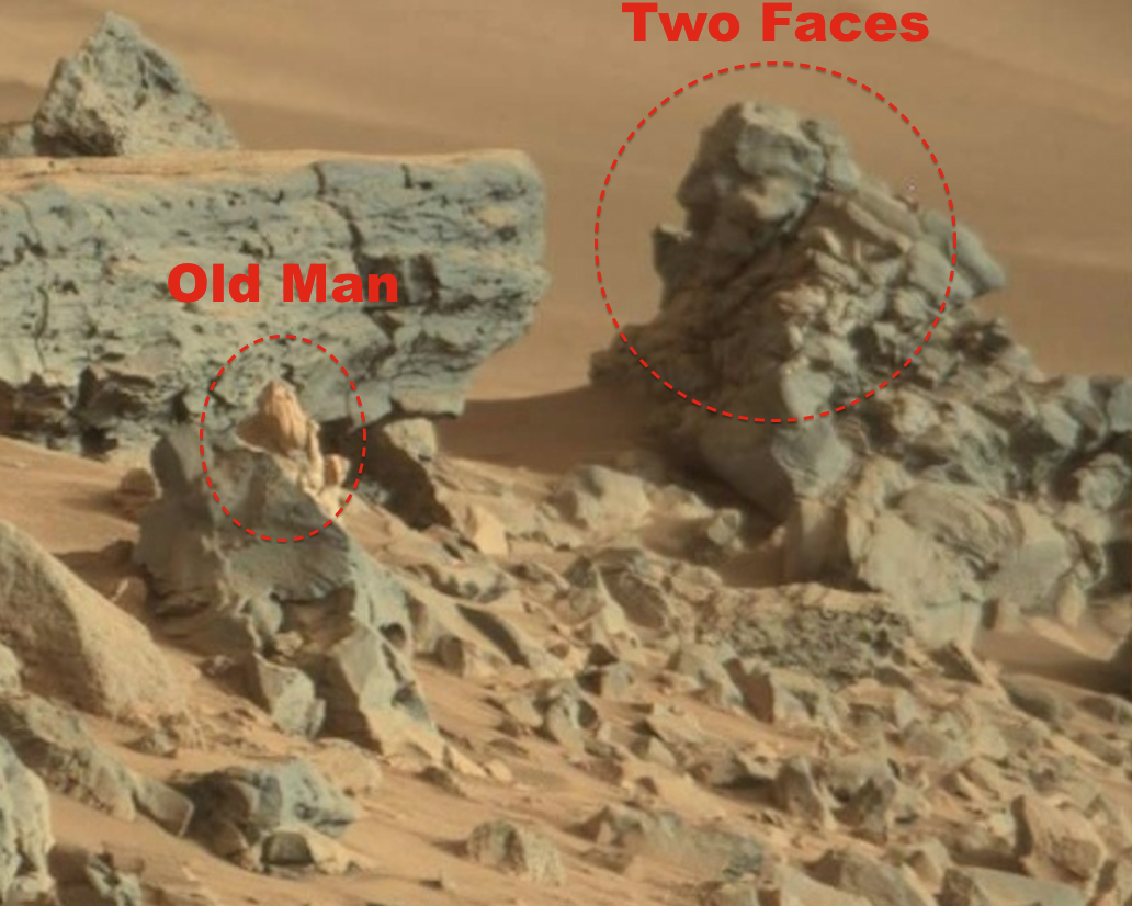 UFO SIGHTINGS DAILY Old Man Found On Mars Looking At