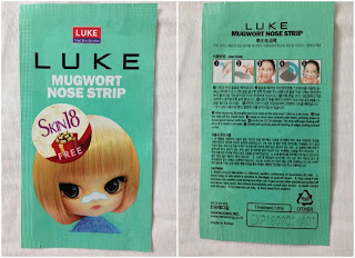 luke nose patch green