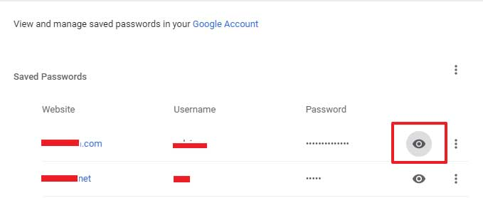 Melihat Saved Password DI Google Chrome