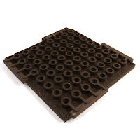 Greatmats rubber rooftop patio tiles