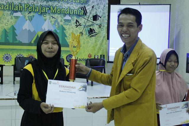 Juara Sayembara Literasi Dahsyatnya Sedekah di Jambore IPM Jember