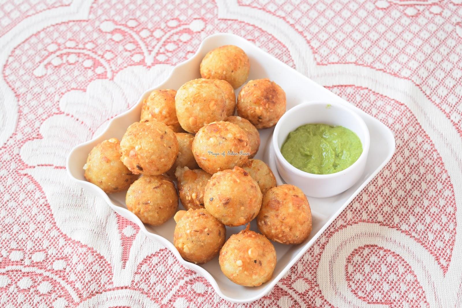 Sabudana Na Gota (Vrat Special) Recipe - साबूदाना के गोटे (व्रत स्पेशल) रेसिपी - Priya R - Magic of Indian Rasoi