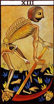Arcano XIII del Tarot de Marsella