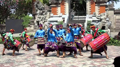 tari oncer wisata seni budaya lombok