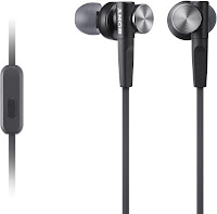 Sony MDR-XB50AP In-Ear Headphones with Mic