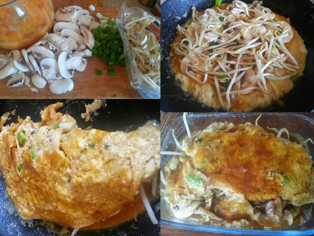 Morrisons Home Delivery Review home made egg foo yung