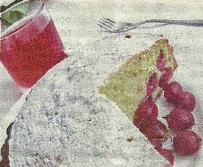 Состав продуктов и способ приготовления пирога с крыжовником и вишней