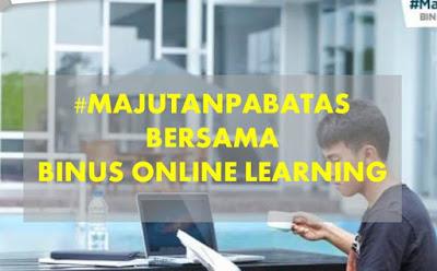 #Majutanpa batas bersama binus online learning