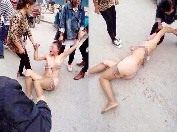 Women Getting Stripped 109