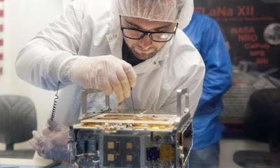 Els enginyers de la NASA somien amb petites naus espacials