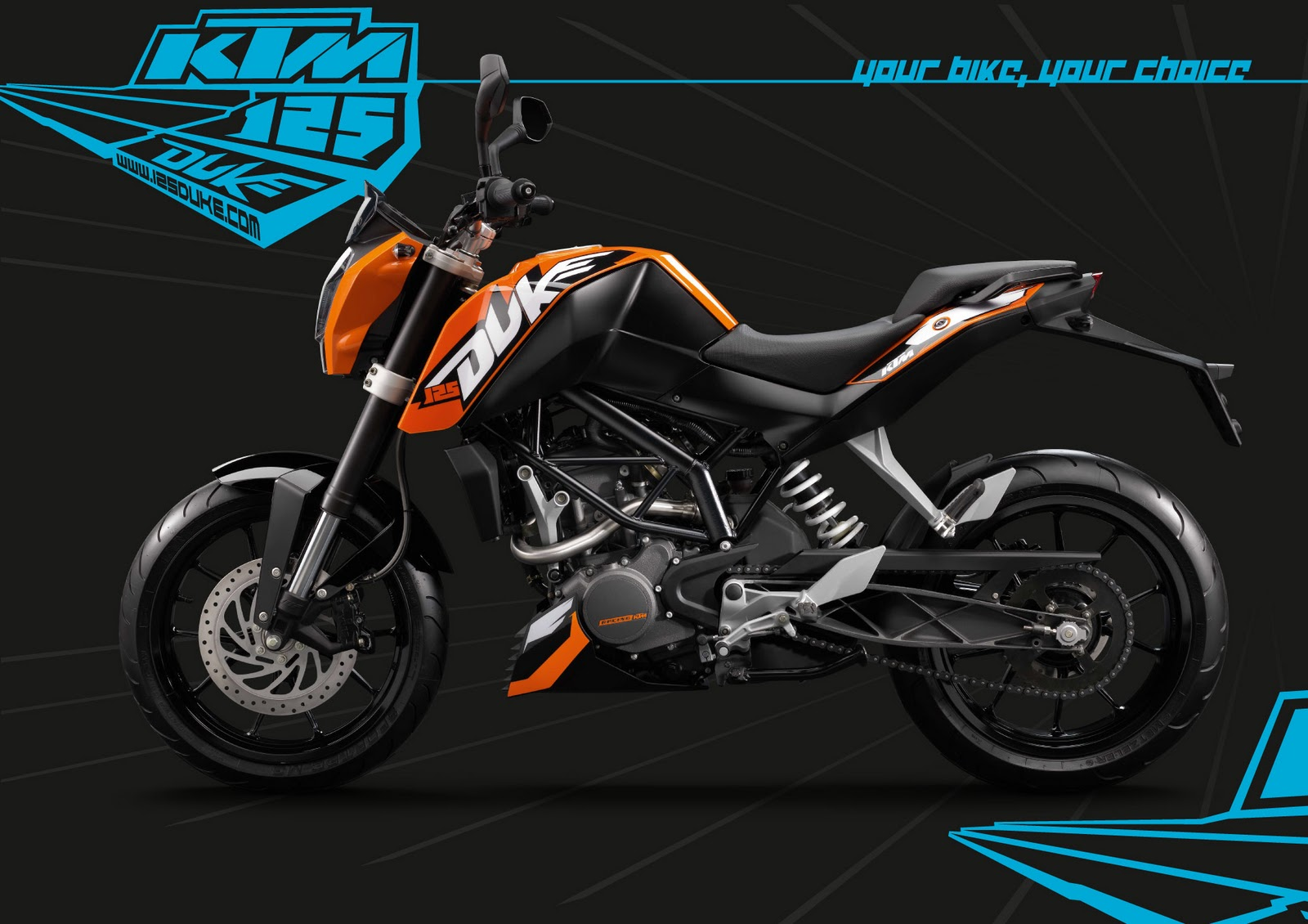 Ktm motorcycles hd wallpapers free wallaper downloads ktm sport - New 2016 Ktm Duke 125 Hd Wallpapers