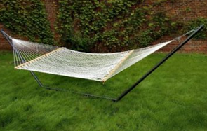 Bliss Hammocks BH-411WH Classic Poly Rope Hammock, Backyard Hammocks, Best Hammocks For Sale, Camping Hammocks, Hammocks On Sale, Hammocks With Stand, Indoor Hammocks, Portable Hammocks, Rope Hammocks, Stationary Hammocks, Steel Hammocks, Wooden Hammocks,