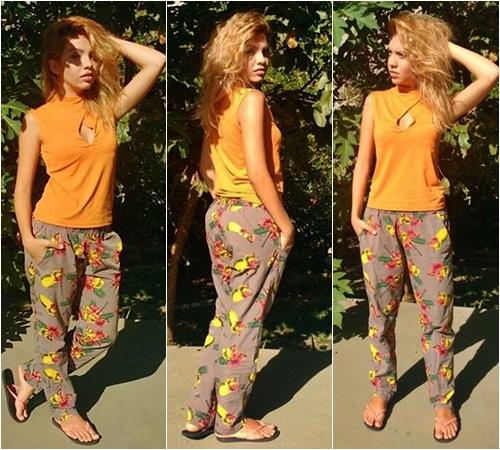 Look com Sandália