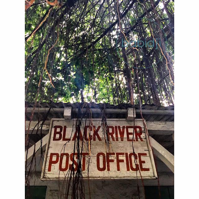 poste de Rivière Noire à l'Île Maurice