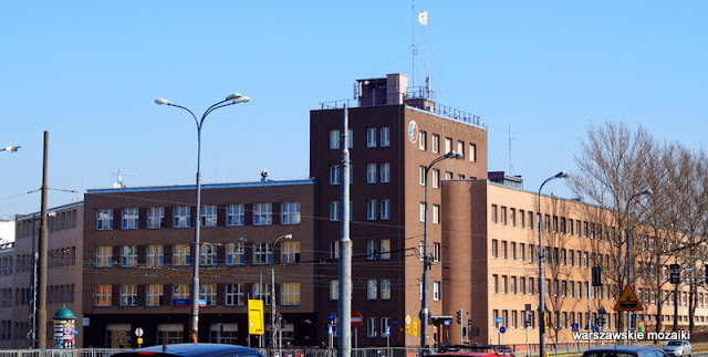Warszawa Warsaw Żoliborz SGSP Słowackiego 52/54 modernizm Jan Reda