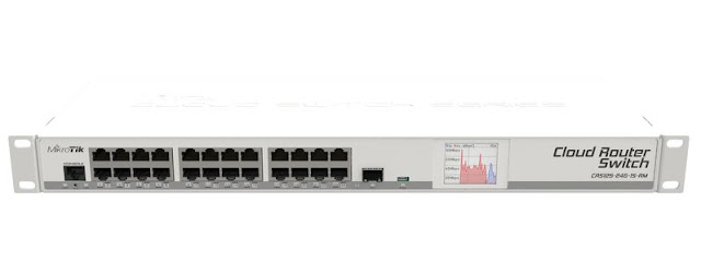 Contoh Mikrotik Cloud Router Switch (CRS)