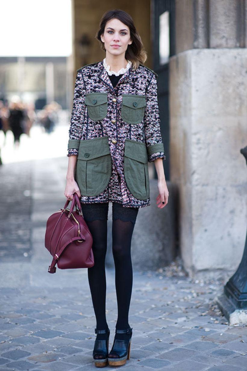 Dear Fashion Diaries: Alexa Chung street style