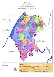 Nabinagar map nabinagar block नबीनगर मैप