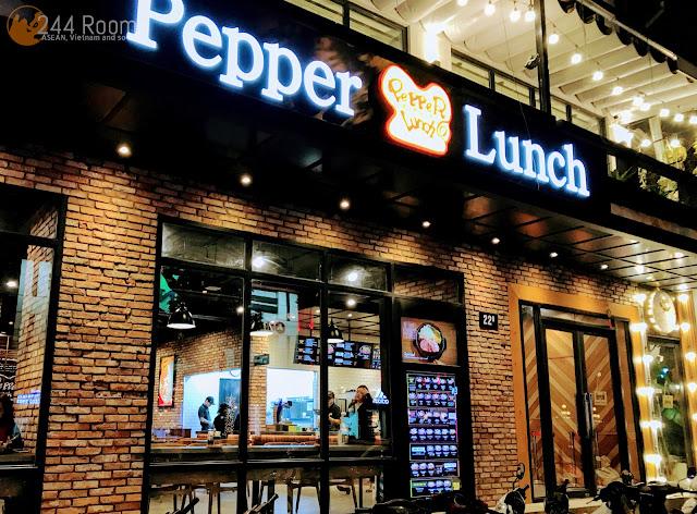 Pepper lunch hanoi ペッパーランチハノイ