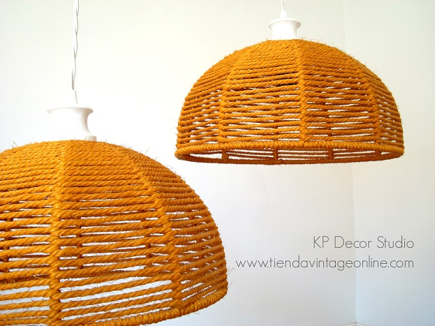 Parejas de lámparas estilo danés vintage online. tienda de lámparas antiguas online