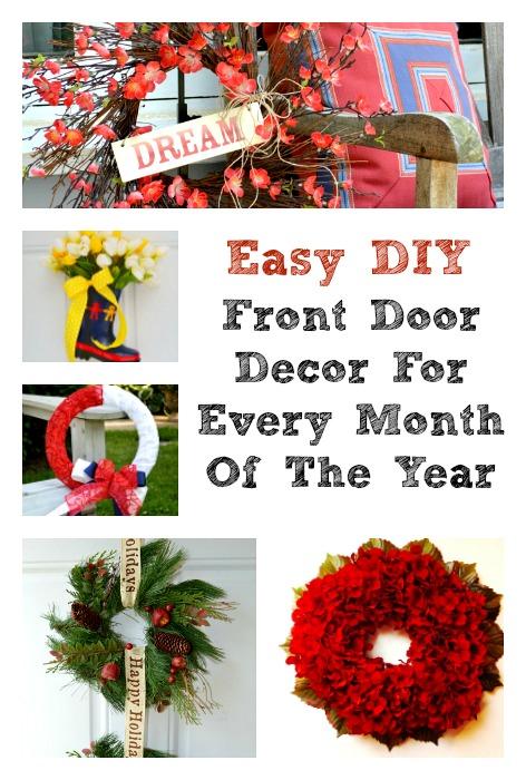 12 Months of Front Door Decor