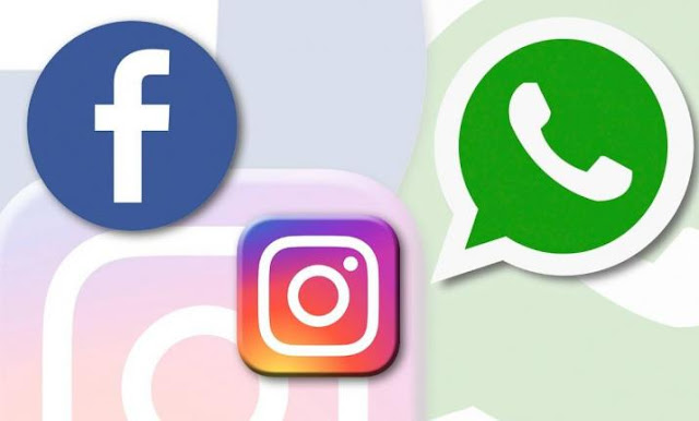 Facebook, Instagram and Whatsapp down! What's happenning?,