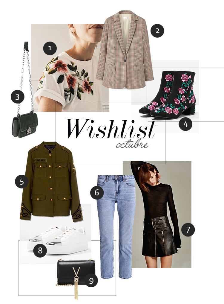 blog de moda wishlist octubre