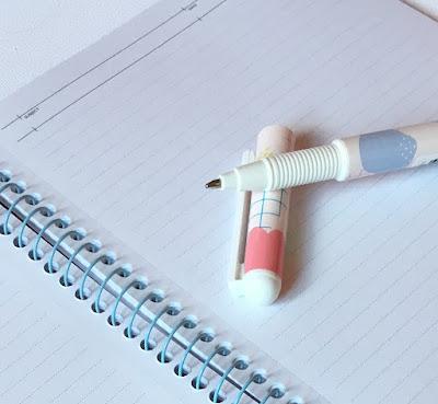 Kikki K, notebook, pen