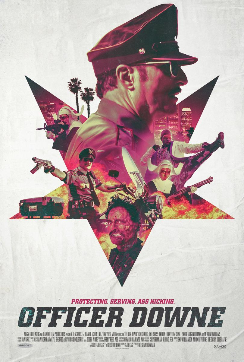 Officer Downe [2016] [DVDR] [NTSC] [Subtitulado]